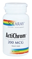 Solaray - ActiChrom 200 mcg. - 50 Tablets