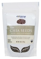 Extreme Health USA - Raw Chia Seeds - 8 oz.