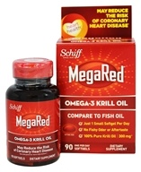 Schiff - MegaRed Omega-3 Krill Oil 300 mg. - 90 Softgels