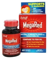 Schiff - MegaRed Extra Strength Omega-3 Krill Oil 500 mg. - 60 Softgels