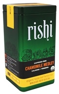 Rishi Tea - Chamomile Medley Caffeine-Free Organic Loose Leaf Herbal Tea - 1.06 oz.