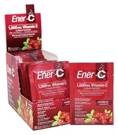 Ener-C - Vitamin C Effervescent Powdered Drink Mix Cranberry 1000 mg. - 30 Packet(s)