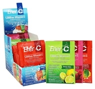 Ener-C - Vitamin C Effervescent Powdered Drink Mix Variety Pack 1000 mg. - 30 Packet(s)