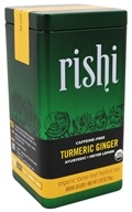 Rishi Tea - Turmeric Ginger Loose Leaf Organic Herbal Tea - 2.47 oz.