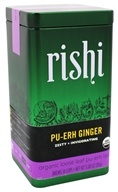 Rishi Tea - Pu-erh Ginger Organic Loose Leaf Tea - 3 oz.