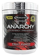 Muscletech Products - Anarchy Max Potency Pre-Workout Performance Series Fruit Punch - 5.31 oz.