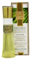 Just Pure Essentials - JUST Love All In One Sensual Pleasure Massage and Moisturizing Oil Original Unflavored - 2 oz.
