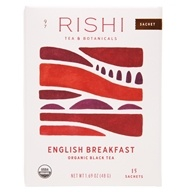 Rishi Tea - Organic English Breakfast Tea - 15 Tea Bags