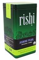Rishi Tea - Organic Loose Leaf Jasmine Pearl Green Tea - 3 oz.