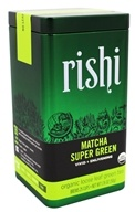 Rishi Tea - Matcha Super Green Organic Loose Leaf Green Tea - 1.76 oz.