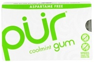 PUR - Sugar Free Chewing Gum Coolmint - 9 Piece(s)