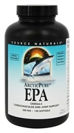Source Naturals - ArcitcPure EPA Lemon Flavored 500 mg. - 120 Softgels