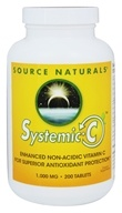 Source Naturals - Systemic C 1000 mg. - 200 Tablets