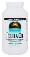 Source Naturals - Perilla Oil 1000 mg. - 180 Softgels