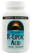 Source Naturals - R-Lipoic Acid 100 mg. - 120 Tablets