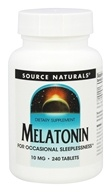 Source Naturals -  Melatonin 10 mg. - 240 Tablets