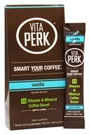 VitaPerk - Vitamin and Mineral Coffee Boost Vanilla - 7 Packet(s)