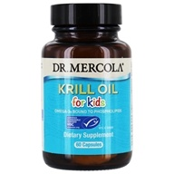 Dr. Mercola Premium Products - Krill Oil for Kids - 60 Capsules