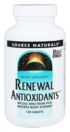 Source Naturals - Renewal Antioxidants - 120 Tablets