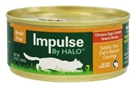 Impulse by Halo - Canned Cat Food Chicken, Egg & Garden Recipe - 5.5 oz.
