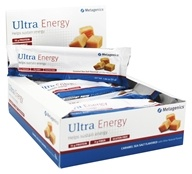Metagenics - Ultra Energy Caramel Sea Salt - 12 Bars