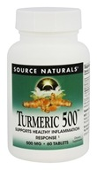 Source Naturals - Turmeric 500 mg. - 60 Tablets