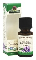 Nature's Answer - Organic Essential Oil 100% Pure Lavender - 0.5 oz.