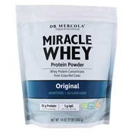 Dr. Mercola Premium Supplements - Miracle Whey Protein Powder Original - 16 oz.