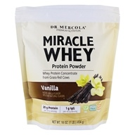 Dr. Mercola Premium Supplements - Miracle Whey Protein Powder Vanilla - 16 oz.