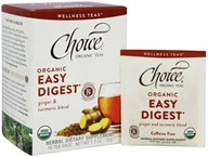 Choice Organic Teas - Organic Easy Digest Tea - 16 Tea Bags
