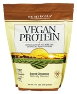Dr. Mercola Premium Products - Vegan Protein Powder Sweet Cinnamon - 1.65 lbs.