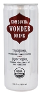 Kombucha Wonder Drink - Traditional Sparkling Fermented Tea Traditional - 8.4 oz.