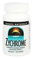 Source Naturals - Zychrome 400 mcg. - 120 Tablets