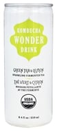 Kombucha Wonder Drink - Organic Sparkling Fermented Tea Green Tea and Lemon ...