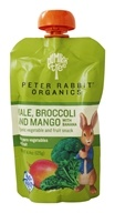 Peter Rabbit Organics - Organic Veg and Fruit Puree 100% Kale, Broccoli and Mango - 4.4 oz.
