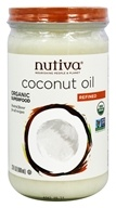 Nutiva - Organic Refined Coconut Oil - 23 oz.