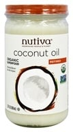 Nutiva - Organic Refined Coconut Oil - 23 oz. LUCKY PRICE