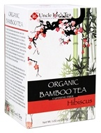 Uncle Lee's Tea - Organic Bamboo Tea Hibiscus - 18 Tea Bags