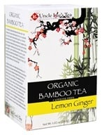 Uncle Lee's Tea - Organic Bamboo Tea Lemon Ginger - 18 oz. ...