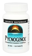 Source Naturals - Pycnogenol 25 mg. - 120 Tablets