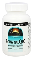 Source Naturals - Coenzyme Q10 30 mg. - 120 Softgels