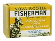 Nova Scotia Fisherman - Seabuckthorn & Shea Soap - 4.8 oz.