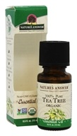 Nature's Answer - Organic Essential Oil 100% Pure Tea Tree - 0.5 oz.