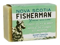 Nova Scotia Fisherman - Fundy Clay & Mint Soap - 4.8 oz.