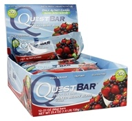 Quest Nutrition - Quest Bar Protein Bar Mixed Berry Bliss - 12 Bars