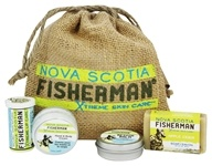 Nova Scotia Fisherman - Stem to Stern Pack with Mini Soap, Lip Balm, Hand & Body Cream, & Rescue Balm - 4 Piece(s)