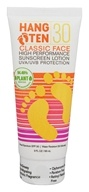 Hang Ten - Classic Face High Performance Sunscreen Lotion 30 SPF - 3 oz.