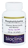Bioclinic Naturals - Phosphatidylserine 100 mg. - 60 Softgels