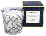 Caldrea - Candle Bougie Black Coriander Lime - 8.1 oz.