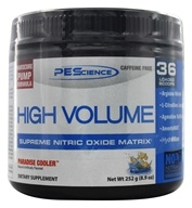 PEScience - High Volume Supreme Nitric Oxide Matrix Paradise Cooler 36 Scoops - 8.9 oz.